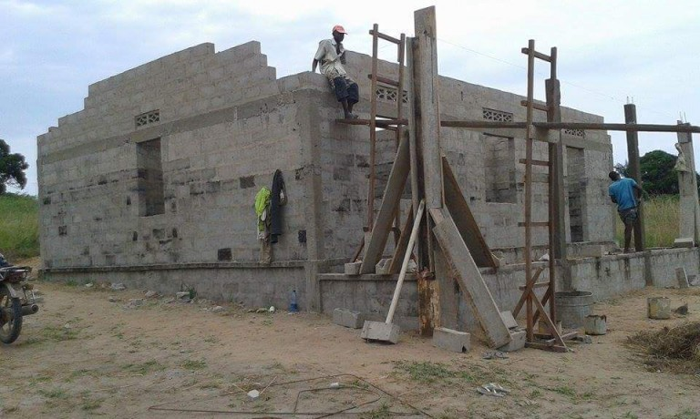 Vertrek bouwteam Muanda 2016