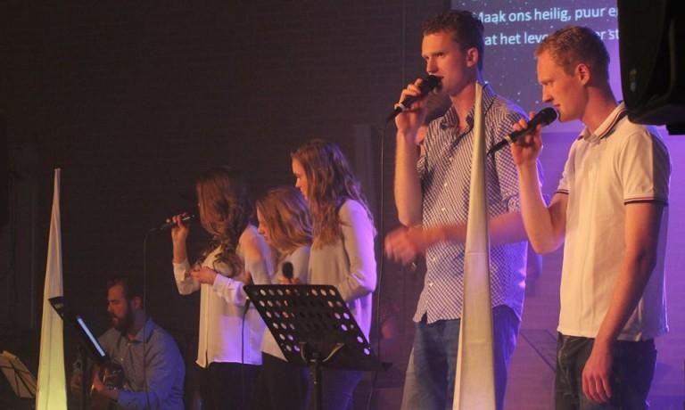 Praise avond in de Ontmoetingskerk